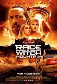 Movie Poster 2009 Disney Film, Race To Witch Mountain
