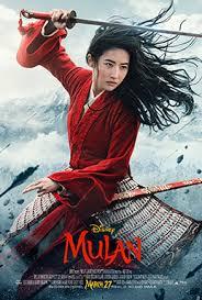 Movie Poster 2020 迪士尼 Film, 花木兰
