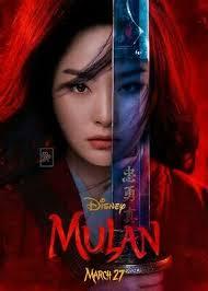 Movie Poster 2020 Disney Film, Mulan