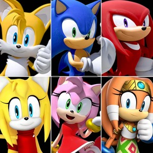My Couples Sonic x Amy Tails x Zooey (Nibroc-rock) Knuckles x Tikal