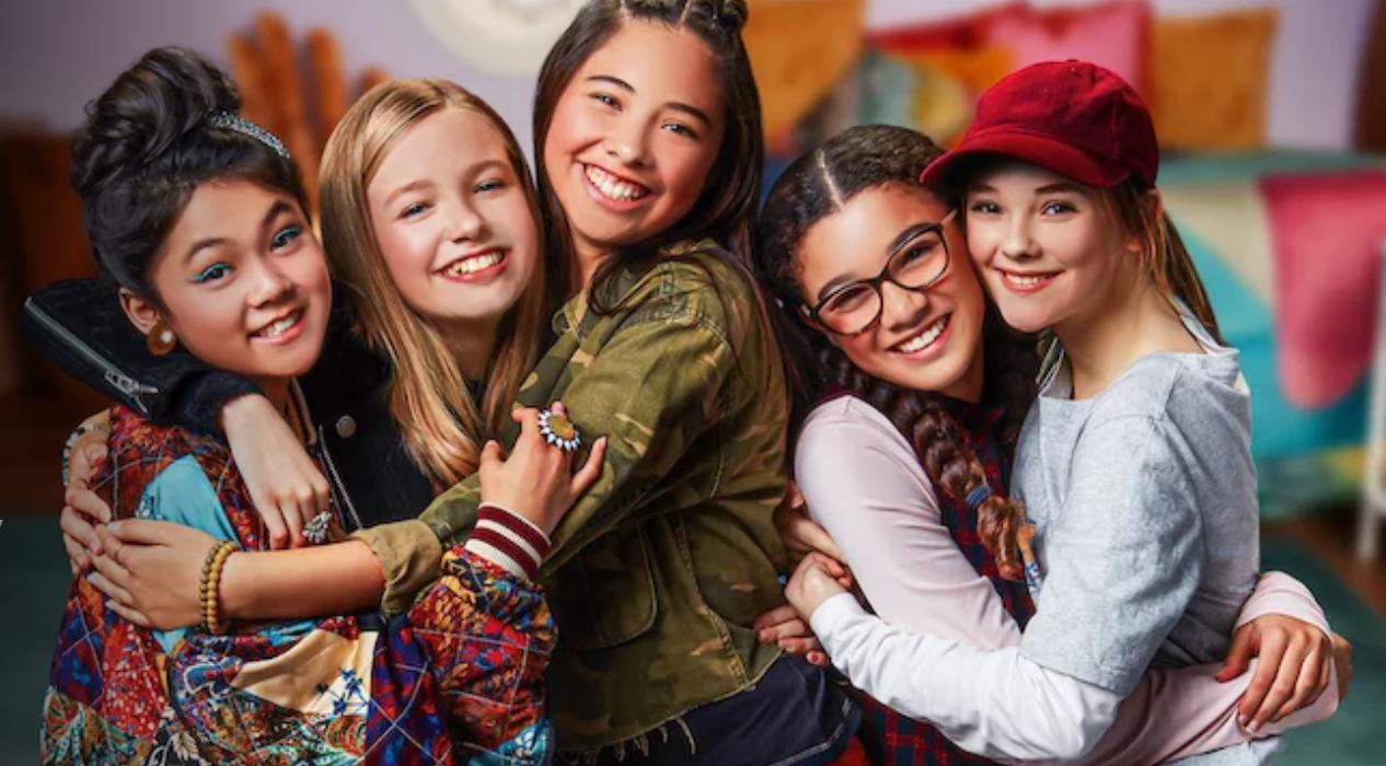 Netflix's The Baby-Sitters Club - Season 1 Cast Portrait