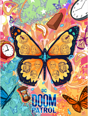 New DOOM PATROL Season 2 Poster by Doaly