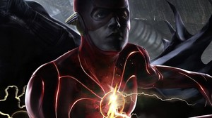 New concept art 展示 the new Flash costume for Ezra Miller in the upcoming Flash film