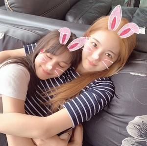 Nina and Ayaka