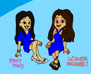 Penny Proud and LaCienega Boulevardez (Beautiful Dress Girls Y'all)