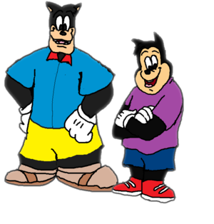 Pete and PJ (Disney) A Goofy Movie