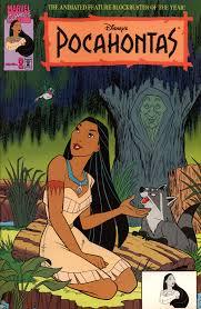 Pocahontas Comic Book