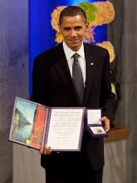 President Barack Obama 2009 Nobel Prize Winner