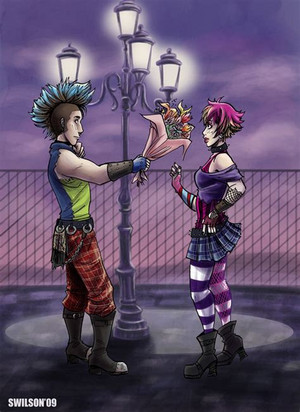Punks in 愛