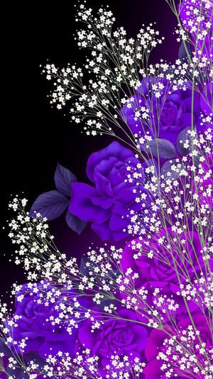 Purple rose For My Lovely Friend,Kirsten 💜