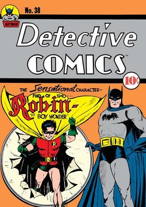 Robin's First Comic Book
