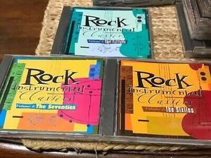 Rock Instrumental Classics C.D. Compilation Set