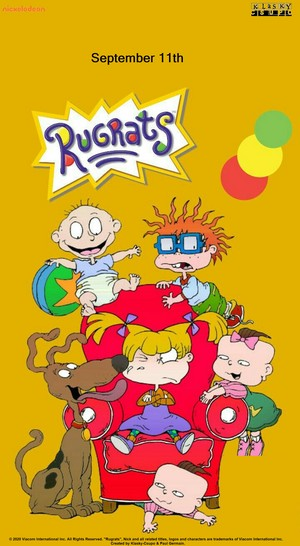 Rugrats 2020 Nickelodeon Labor giorno wallpaper