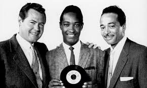 Sam Cooke With Bumps Blackwell And Bob Keen
