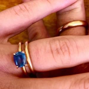 Sean Penn And Leila Jones Wedding Rings