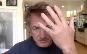 Sean Penn Confirming His Third Marriage On Zoom