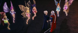 Secret of the lost Kingdom: The Winx, Hagen and Faragonda