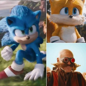 Sonic the Hedgehog 2 Movie Tails (Eggman)