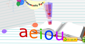 Starfall Vowels Save The jour