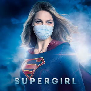 Supergirl (Kara Danvers) Go Pro-Mask social distancing fashion wear