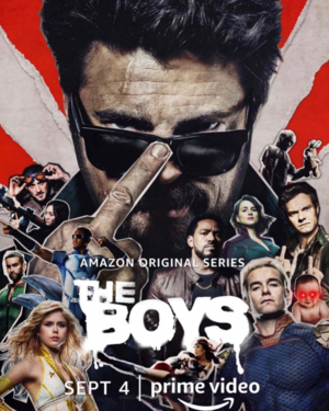 The Boys - Season 2 Poster - Billy Butcher