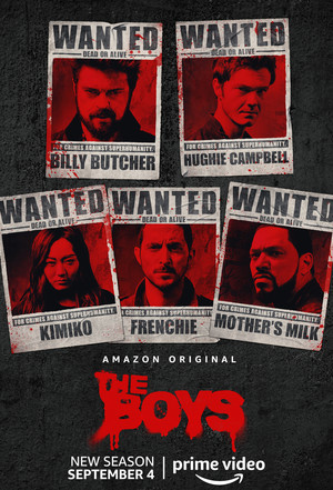 The Boys - Season 2 Poster - Wanted