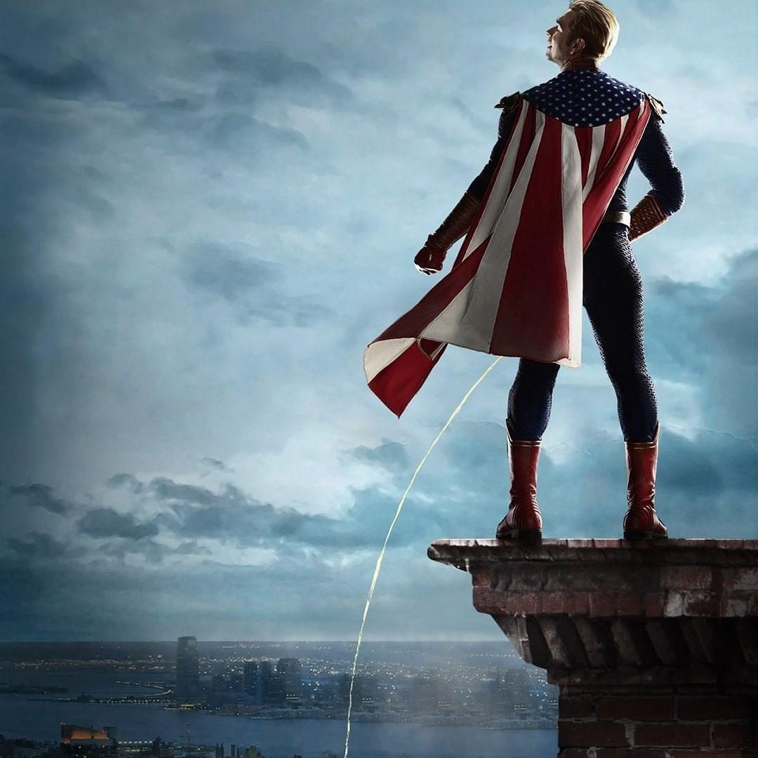 The Boys - Season 2 Teaser Poster - Homelander