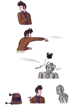 The Dalek Did It!