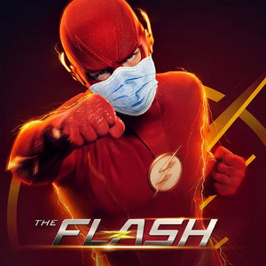 The Flash (Barry Allen) Go Pro-Mask social distancing fashion wear