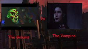 The Golums Vs The Vampire