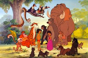 Walt Disney Production Cels - The Jungle Book