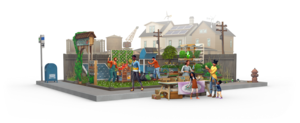 The Sims 4: Eco Lifestyle Renders