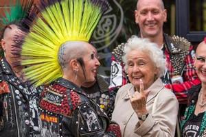 This Grandma Is a Punk!