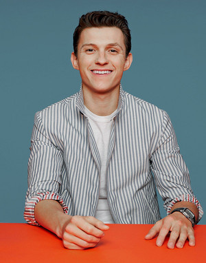 Tom Holland for Entertainment Weekly