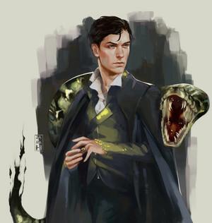 Tom Marvolo Riddle aka Voldemort