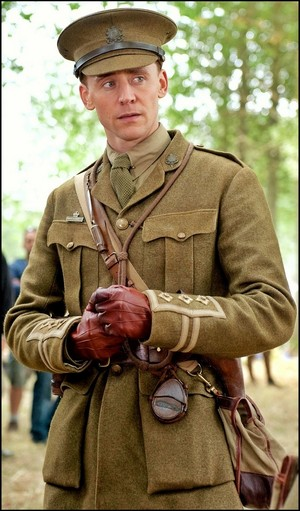 Tom as Captain James Nicholls ♥️ in War Horse (2011)