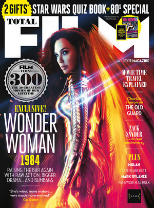 Total Film's Wonder Woman 1984 covers