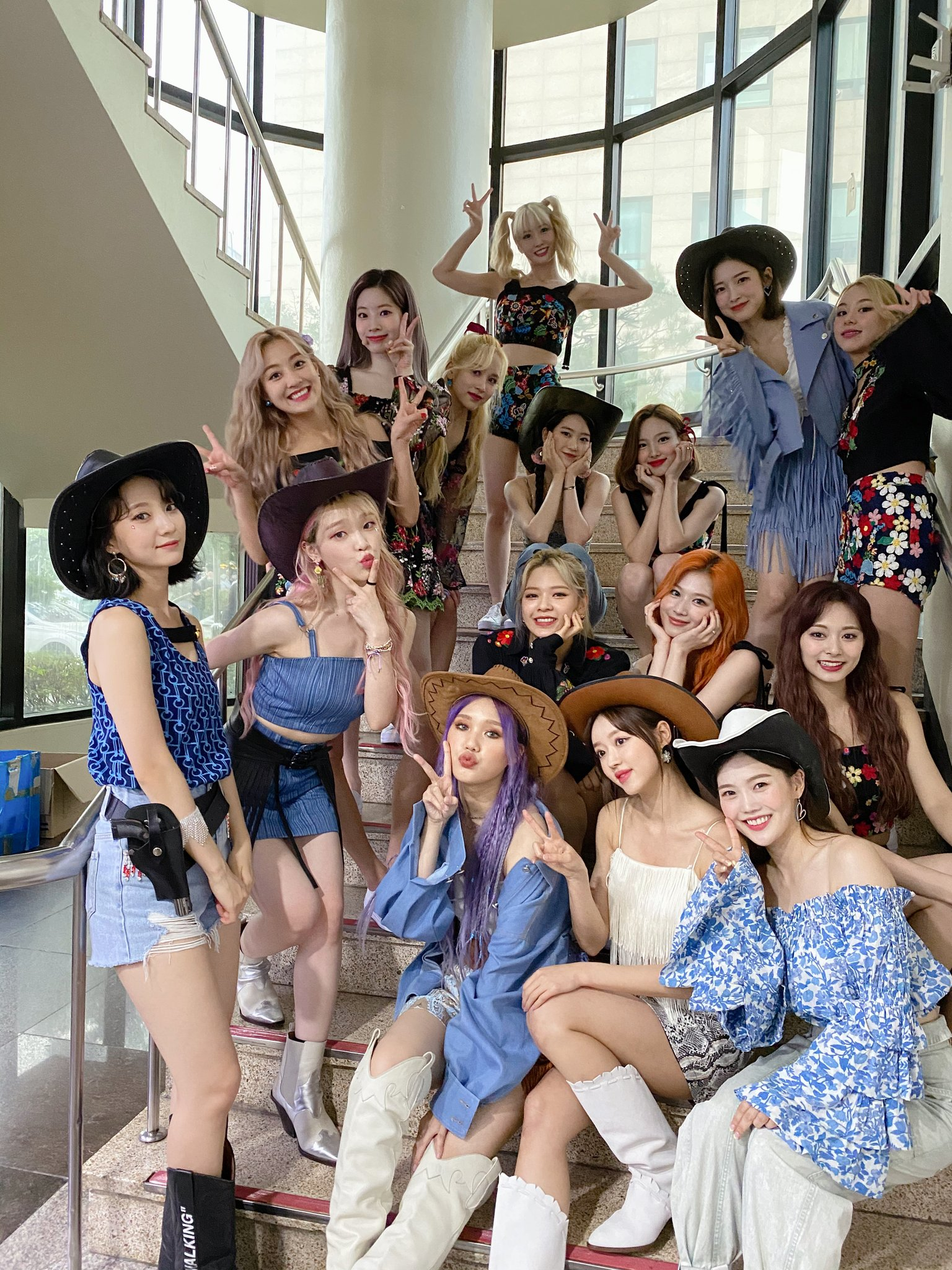 Twice and Oh My Girl