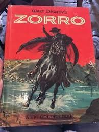 Vintage Zorro Disney Storybook
