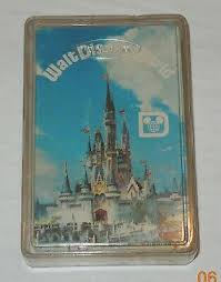 Vintage Disney World Playing Cards