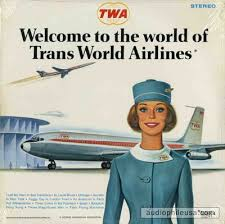 Vintage TWA Promo Ad