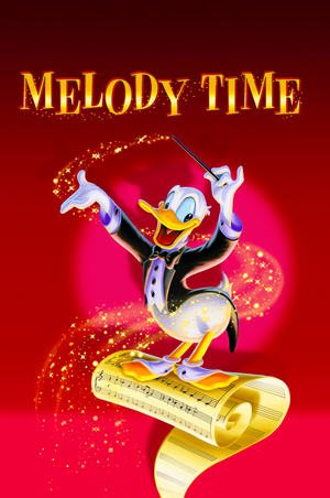 Walt Disney Posters - Melody Time