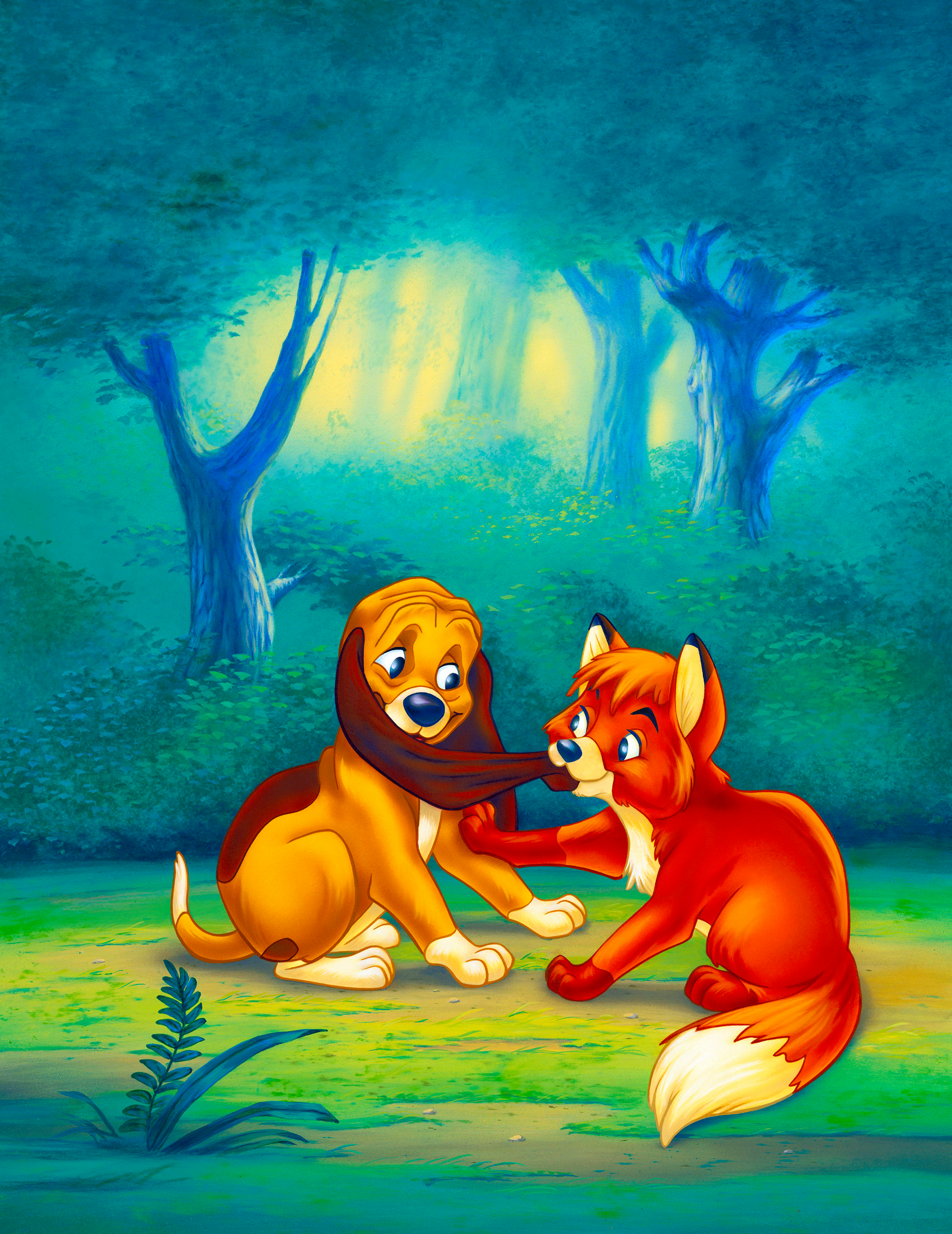 Walt Disney Posters - The Fox and the Hound