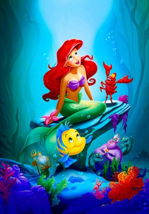 Walt 디즈니 Posters - The Little Mermaid