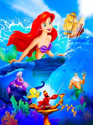Walt Дисней Posters - The Little Mermaid