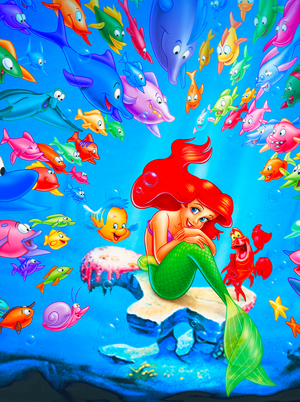 Walt Дисней Posters - The Little Mermaid