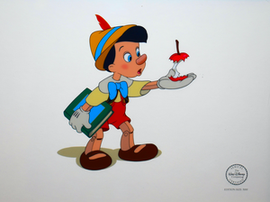 Walt 디즈니 Production Cels - Pinocchio