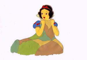 Walt 디즈니 Production Cels - Princess Snow White