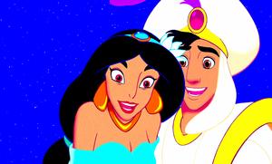 Walt Disney Screencaps - Princess gelsomino Prince Aladdin