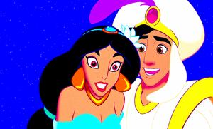 Walt Disney Screencaps - Princess جیسمین, یاسمین & Prince Aladdin